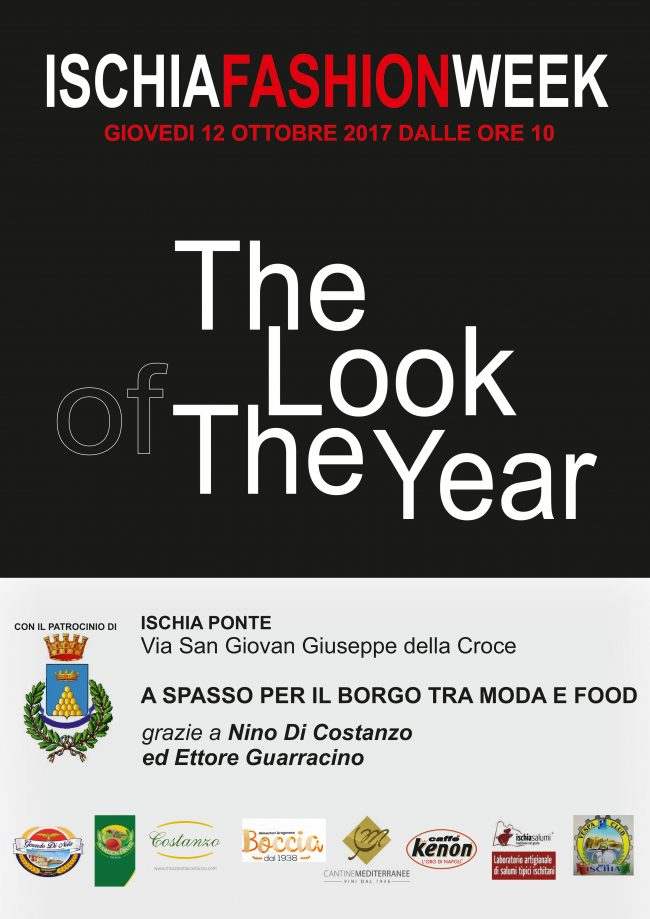 The look of the year in ischia ponte fashion and food in for Aragonese cuisine